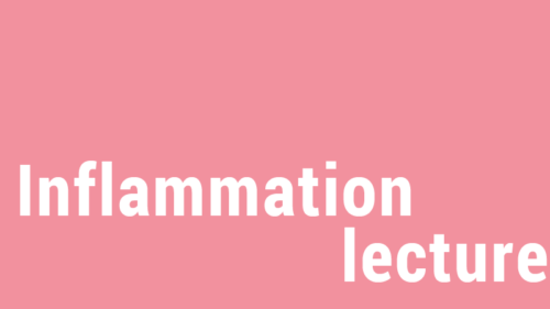 Dekobild für die Inflammation Lecture des Campus Chronische Entzündung