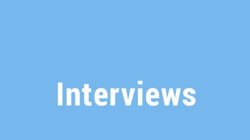 Hinweis auf Interviews