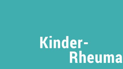 Kinder-Rheuma-Infomaterial