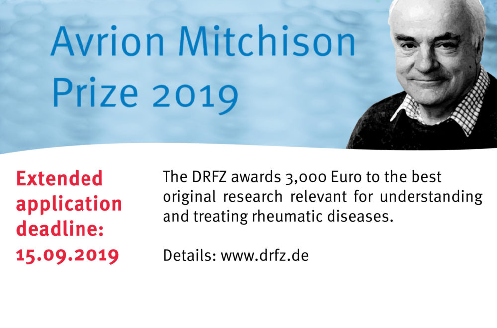 Mitchison Prize Extended Deadline